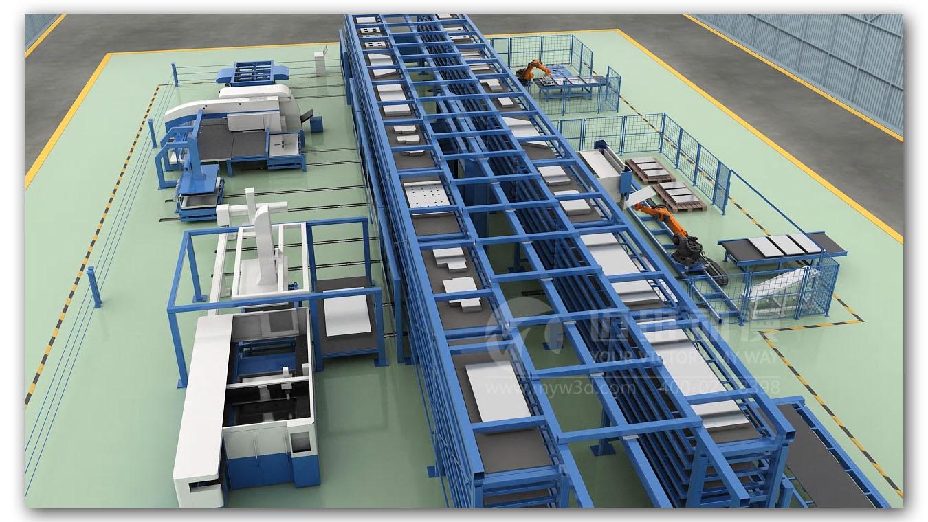 自动化生产线行业动画(图5)